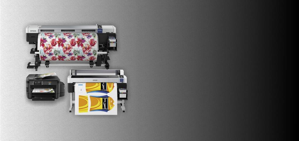 Impressoras Epson e Roland